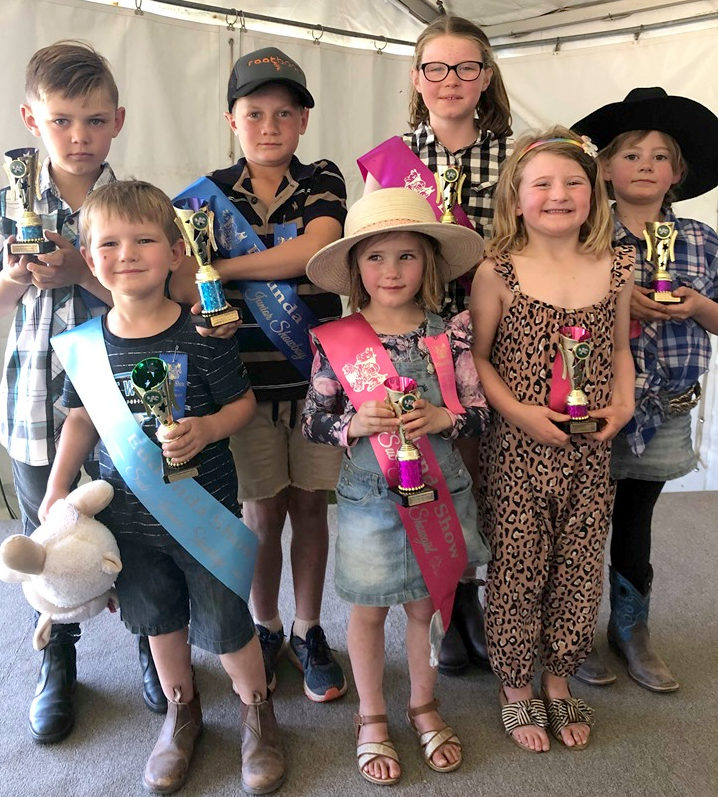Eudunda Showgirl & Showboy Entrants 2019