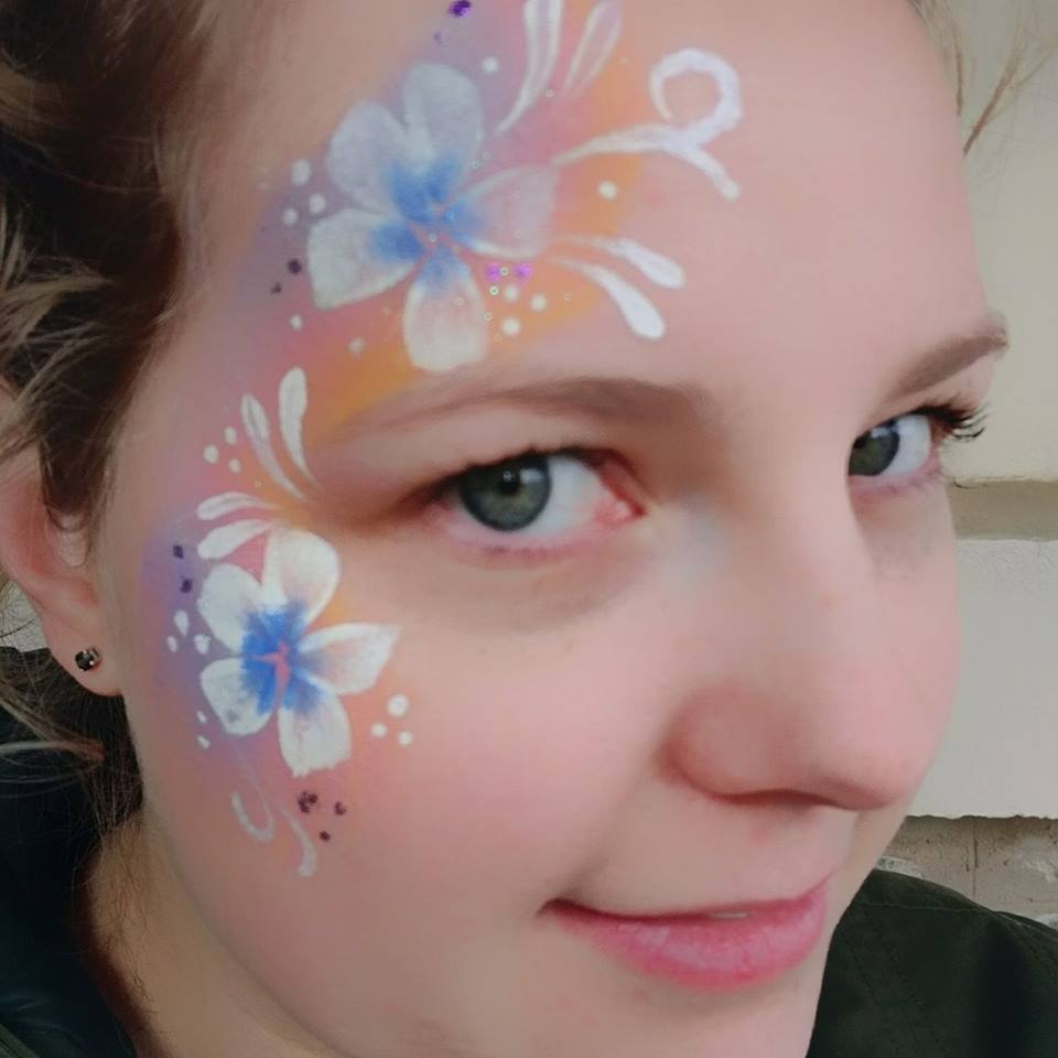 Face Painting at the Eudunda Show by Sillie Lillie Art