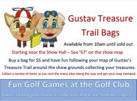 Gustavs Treasure Trail – New Location