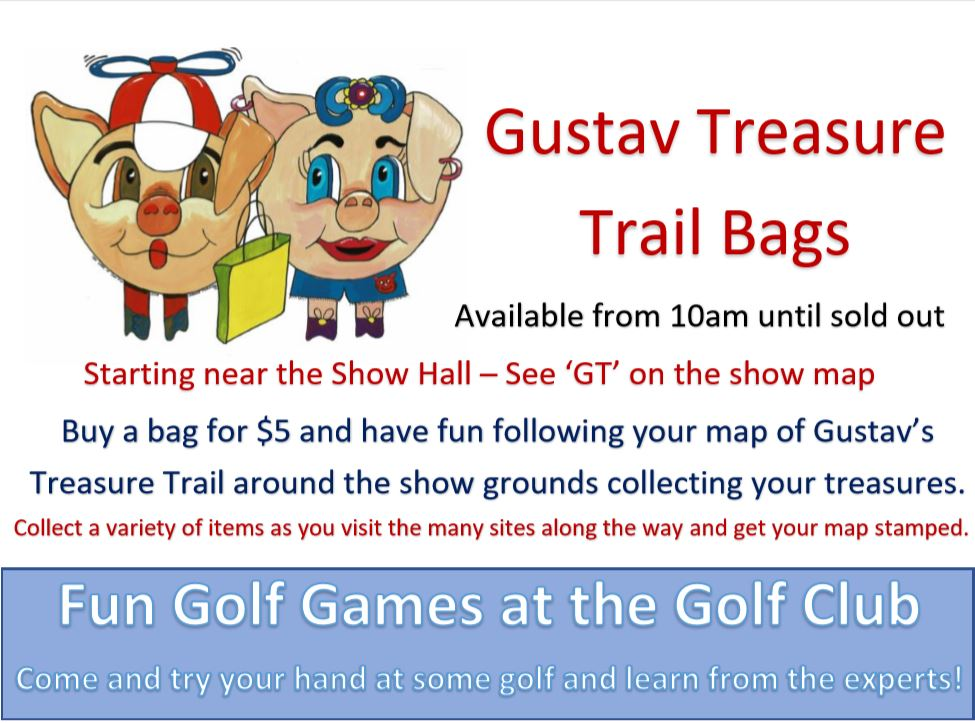 Gustav Trail Treasure Bags at the Eudunda Show 2019