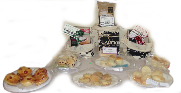 Laucke Sweet Scone Comp display 2015 - Note this year it is Savory