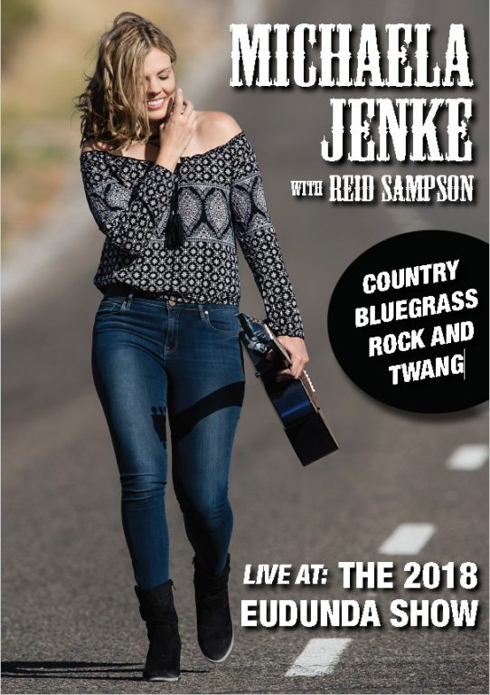 Michaela Jenke with Reid Sampson Live at Eudunda Show 2018