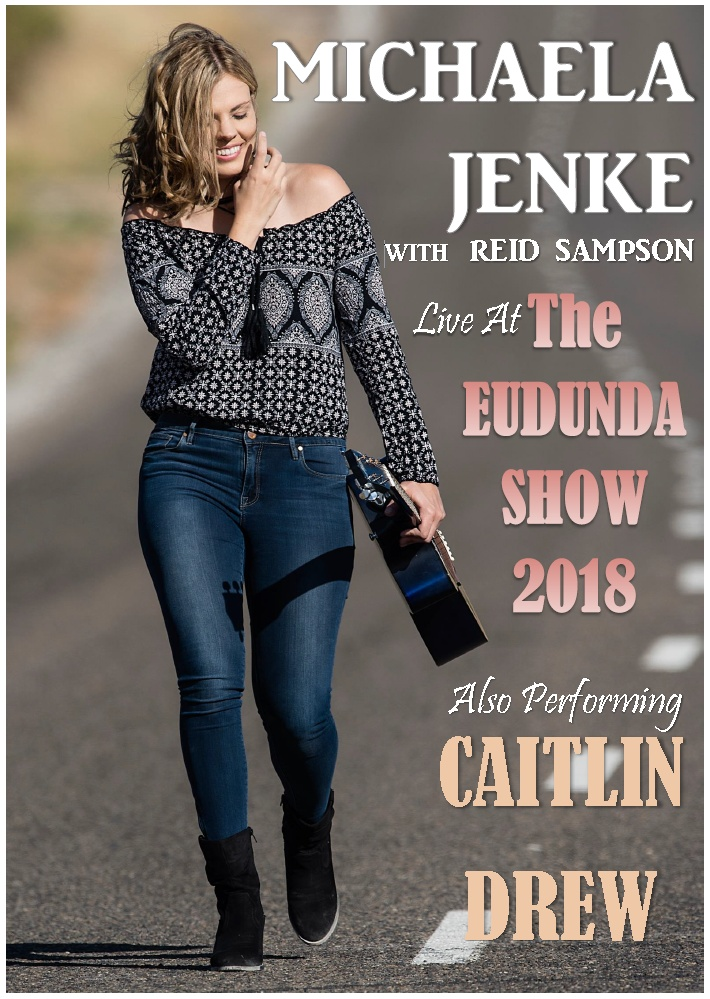 Michaela Jenke with Reid Sampson and Caitlin Drew- Live at Eudunda Show 2018