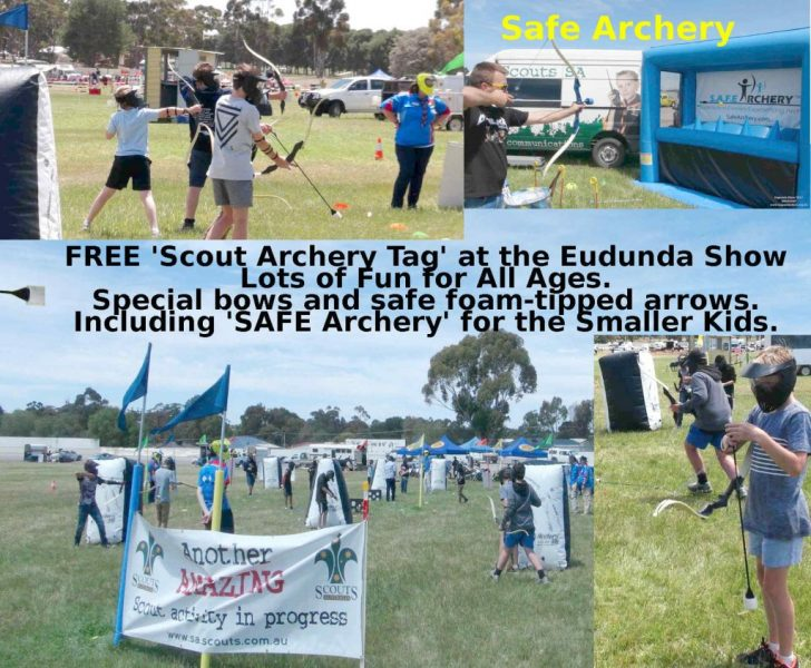 Scout Archery Tag - Montage
