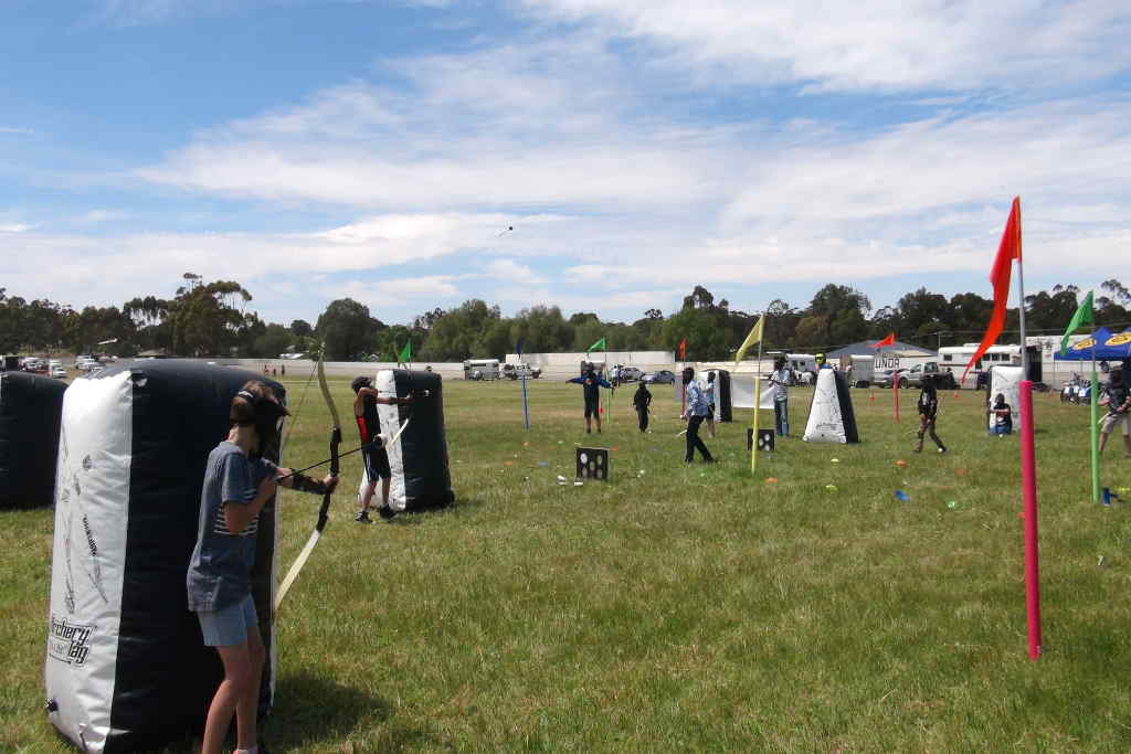 Scouts Archery Tag